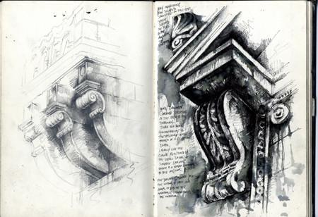 Superieur Sketchbook Gallery   Architectural Studies