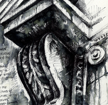 Architectural Studies Ian Murphy Sketchbooks