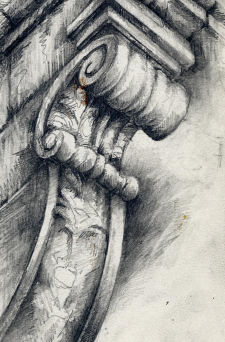 Ornate Architecture Ian Murphy Sketchbooks