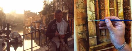 Venetian Doorway painting tutorial