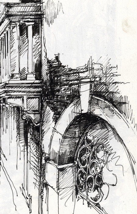 Venetian Canal 187 Ian Murphy Sketchbooks