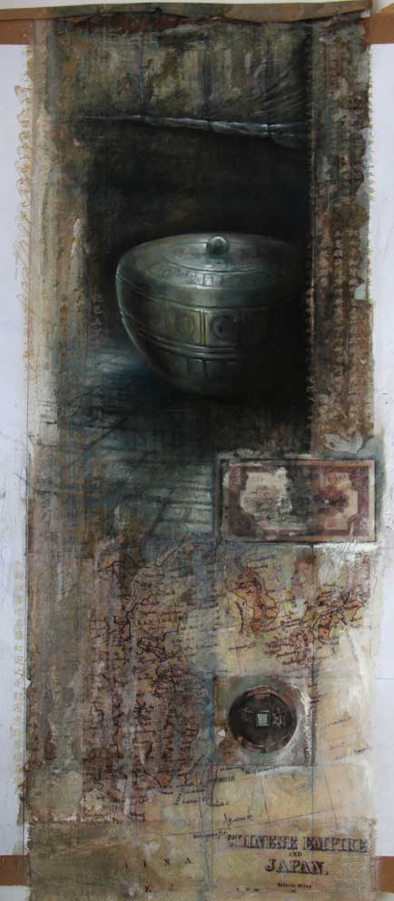 Artefacts Series 2 187 Ian Murphy Paintings