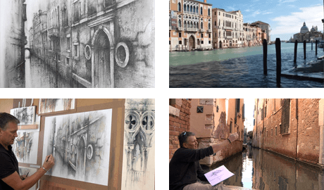 Venice Perspective Drawing - New Tutorial