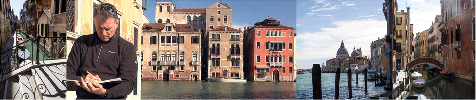 Drawing tour to Venice with Ian Murphy