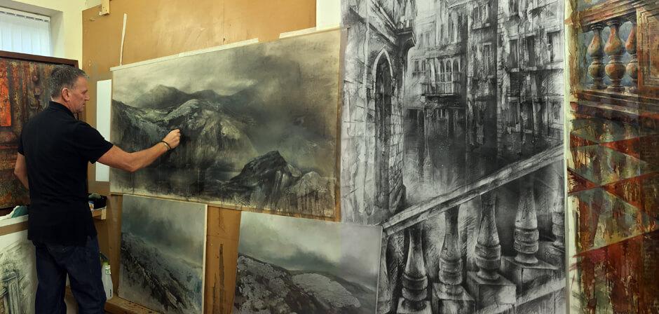 Ian Murphy in Studio -2017