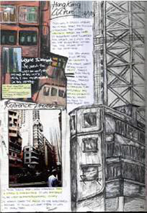 Hong Kong Sketchbook