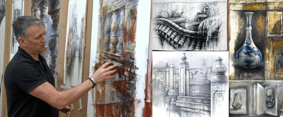 3-day art workshop with Ian Murphy