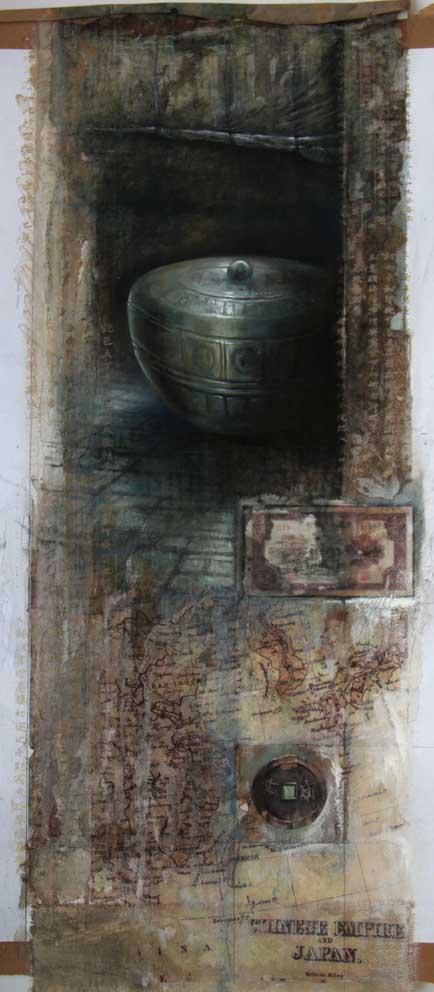 Artefacts Series 2 Ian Murphy Paintings