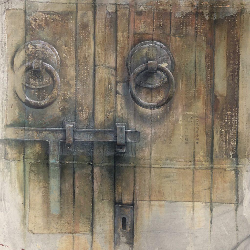 Ian Murphy painting